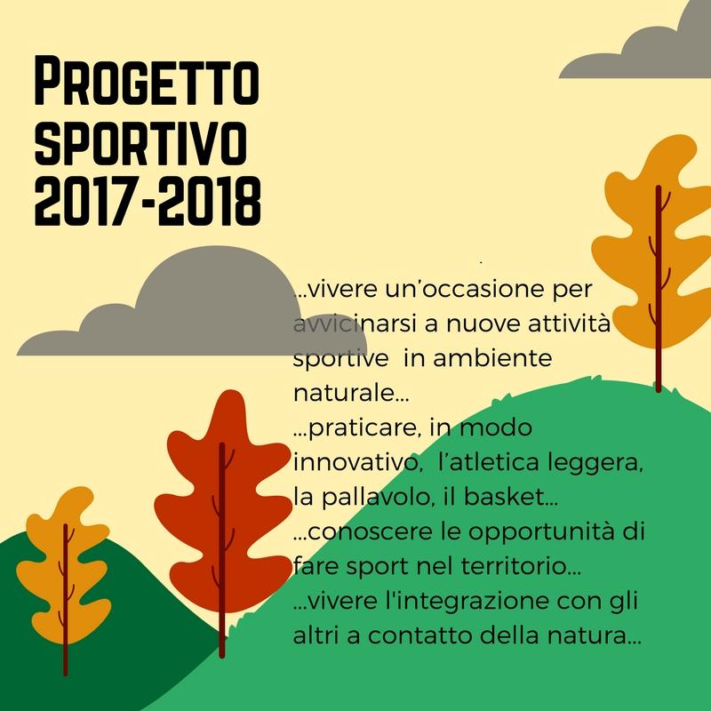 Progetto sportivo 2017-2018